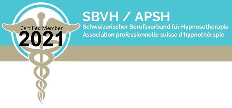 Logo SBVH Schweizerischer Berufsverband Hypnosetherapie